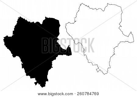 Durango (united Mexican States, Mexico, Federal Republic) Map Vector Illustration, Scribble Sketch F