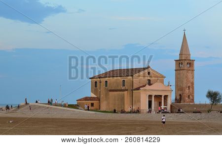 Church Santuario Della Madonna Dell'angelo, Rebuilt In The 17Th Century On The Foundations Of The Or