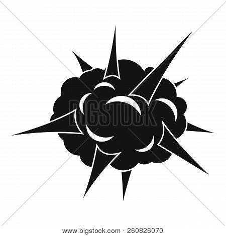 Power Explosion Icon. Simple Illustration Of Power Explosion Icon For Web