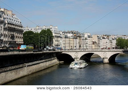 Paris, Bridge over the Seine