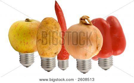 Fruit Lamps