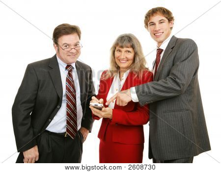 Business Team Pda