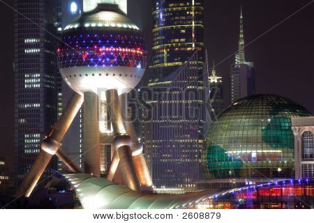 China shanghai pearl tower