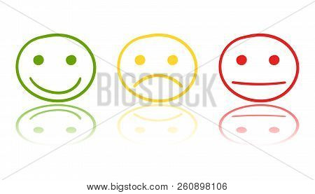 Hand Drawn Smiley Vector & Photo (Free Trial) | Bigstock