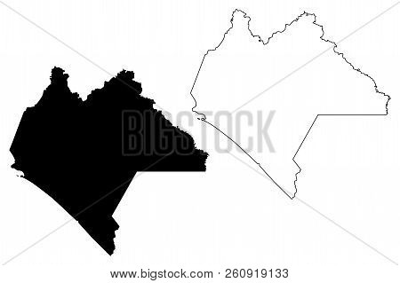 Chiapas (united Mexican States, Mexico, Federal Republic) Map Vector Illustration, Scribble Sketch F