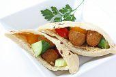 Falafel Pita Sandwich poster