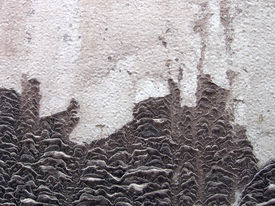 Texture Of An Eroded Steel Surface