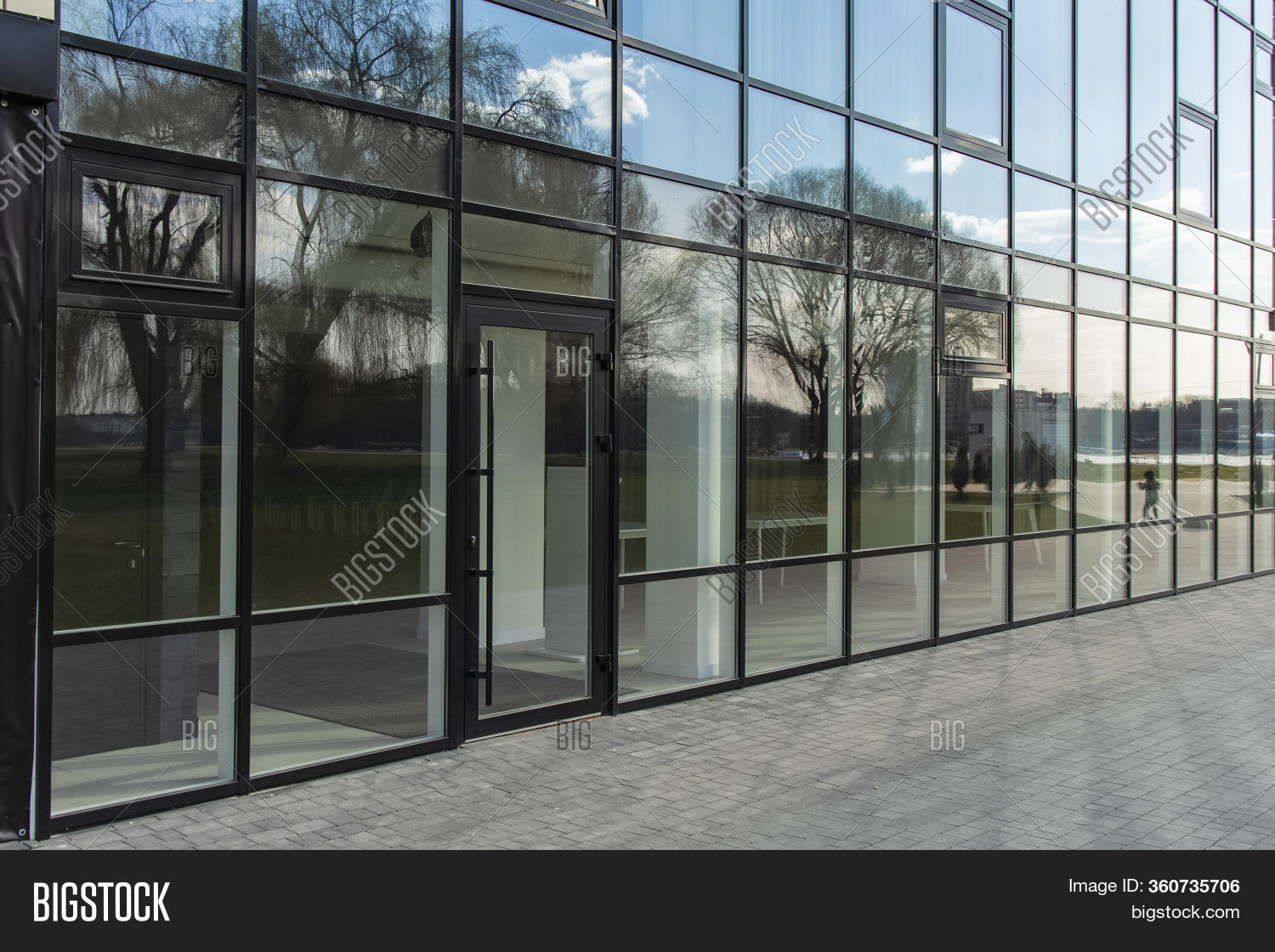 Office Center Glass Image Photo Free Trial Bigstock