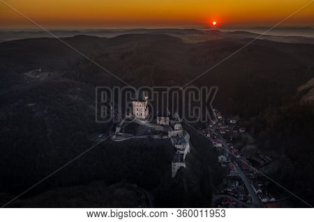 Karlstejn Castle Is A Large Gothic Castle Founded 1348 Ce By Charles Iv, Holy Roman Emperor-elect An
