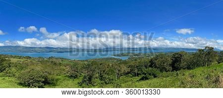 Arenal National Park With Arenal Volcano And Arenal Lake In Costa Rica