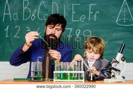 Teacher Child Test Tubes. Cognitive Process. Kids Cognitive Development. Mental Process Acquiring Kn