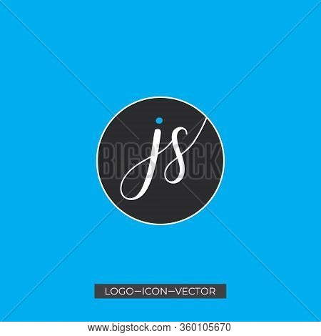 Js Letter Type Logo Design Vector Template. Abstract Letter Js Logo Design