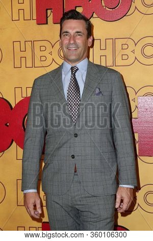 LOS ANGELES - SEP 17:  Jon Hamm at the HBO After Party at Pacific Design Center on September 17, 2017 in West Hollywood, CA