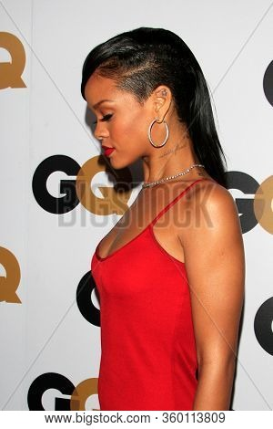 LOS ANGELES - JAN 13:  Rihanna at the GQ Men of the Year Party at the Chateau Marmont on January 13, 2012 in West Hollywood, CA12