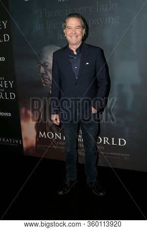 LOS ANGELES - DEC 18:  Timothy Hutton at the