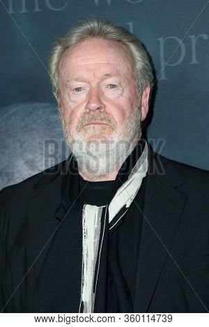 LOS ANGELES - DEC 18:  Ridley Scott at the