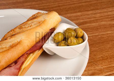 Bacon Baguette