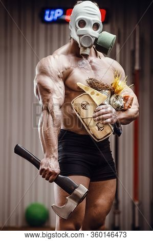 Pandemic Chaos Mask Post-apocalypse Bodybuilding