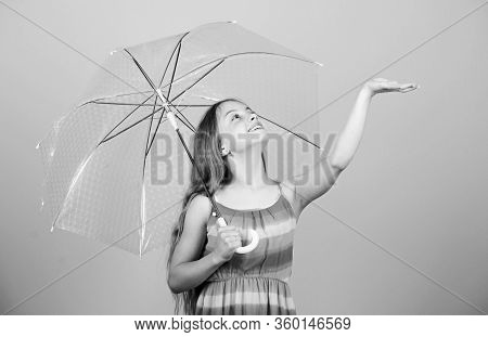 Enjoy Rainy Weather. Invisible Protection. Seasonal Changes. Fall Season. Enjoy Rain Concept. Waterp