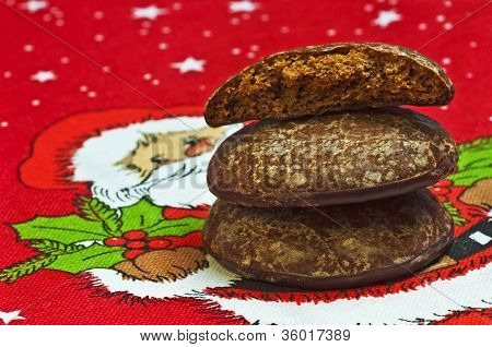 German chrismas cake Lebkuchen
