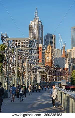 Melbourne, Australia - December 4: Landscape Of The South Melbourne On December 4, 2018 In Melbourne