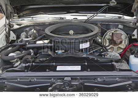 Engine Of A 1972 Hurst Oldsmobile Indianapolis 500 Pace Car