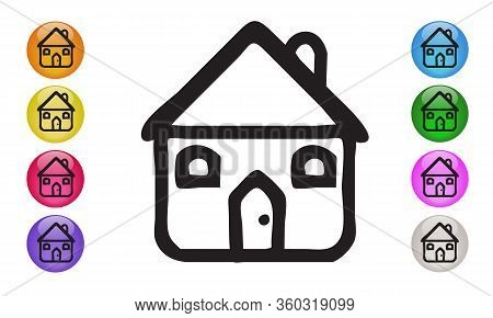 Home Icon Vector Image Designed For Web Applications, Mobile Applications And Print Media Eps 10