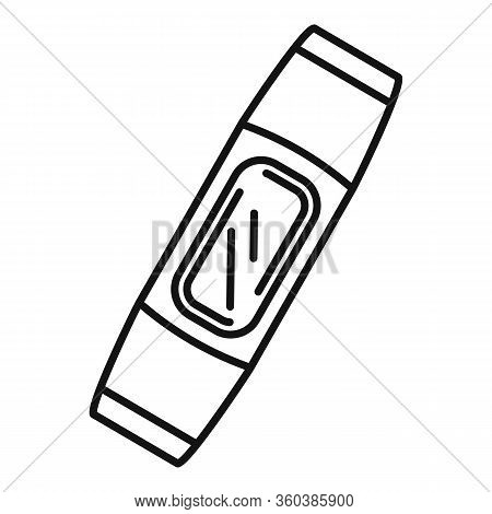 Smart Bracelet Device Icon. Outline Smart Bracelet Device Vector Icon For Web Design Isolated On Whi