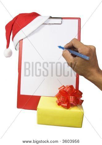 Christmas Clipboard