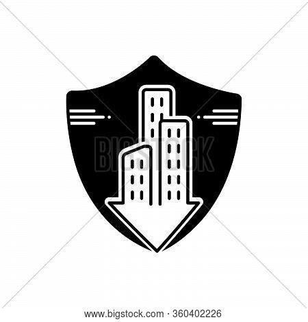 Black Solid Icon For Condo-insurance Condo Insurance Accommodation Mortgage Condominium