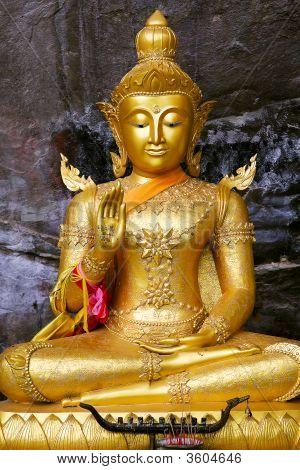 Monuments Of Buddah Saraburi Thailand