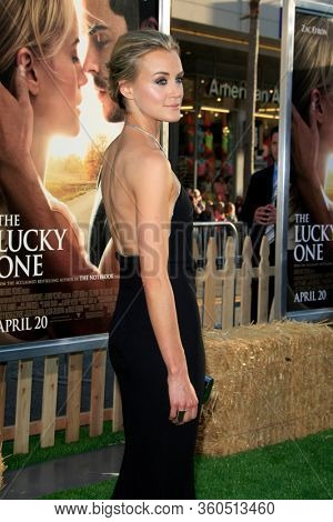LOS ANGELES - APR 16:  Taylor Schilling  at the