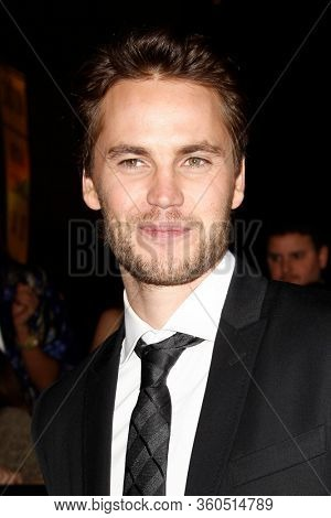 LOS ANGELES - FEB 22:  Taylor Kitsch at the