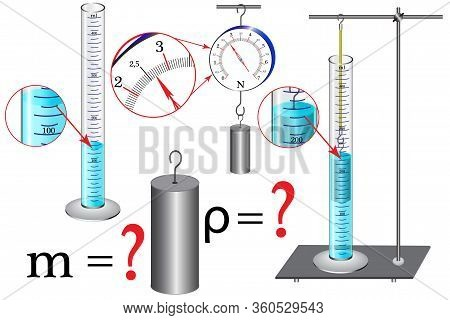 The Physical Task Of Studying The Topic Of Measuring Instruments Is To Calculate Body Mass And Densi