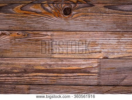 Dark Yellow And Gray Shabby Wood Background. Old Wall Wooden Vintage Floor. Texture Backdrop. Rough
