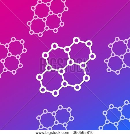 Graphene, Carbon Nano Structures, Vector, Eps 10 File, Easy To Edit