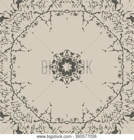 Geometric Nature Collection Illustration Seamless Pattern Background 04