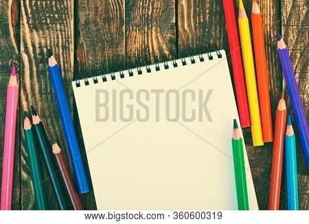 Note And Pencils