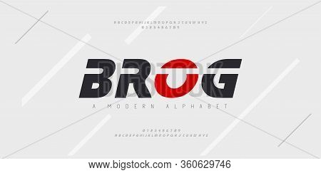Sport Modern Future Italic Alphabet Font. Typography Urban Style Fonts For Technology, Digital, Movi