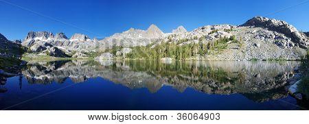 Ediza Lake Panorama
