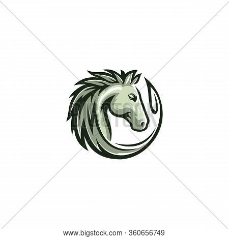 Horse Logo Design Template.horse Icon.horse Logo Design