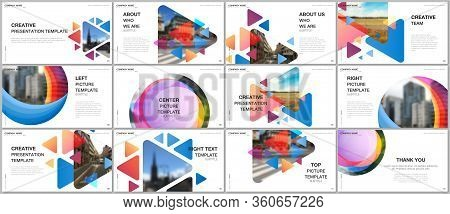 Presentation Design Vector Templates, Multipurpose Template For Presentation Slide, Flyer, Brochure