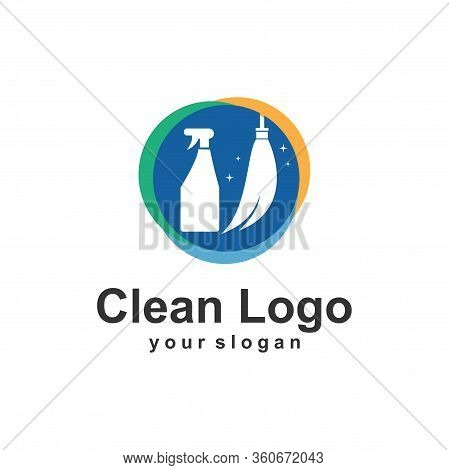 Clean Logo Template Vector Illustration Design Icon