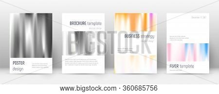 Flyer Layout. Minimalistic Ecstatic Template For Brochure, Annual Report, Magazine, Poster, Corporat