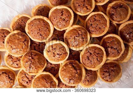 Pecan Tassie Cookie Cups