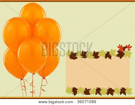 Autumn baloons