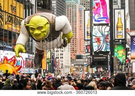 Thanksgiving Day Parade In New York City