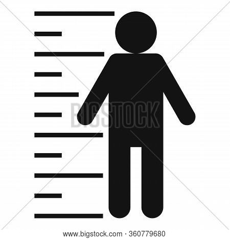 Criminal Justice Icon. Simple Illustration Of Criminal Justice Vector Icon For Web Design Isolated O