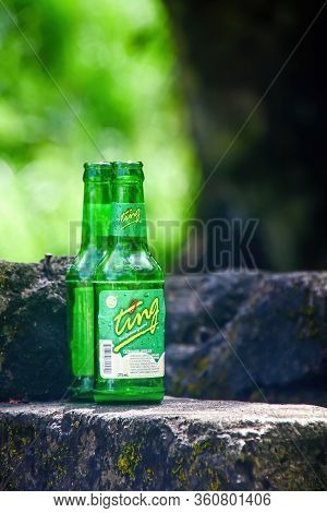 Saint George, Grenada - April 11, 2019: Ting, Bottled On Granada, Is One Of The Most Popular Soft Dr