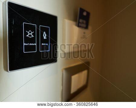 A Digital Don't Disturb Switch.